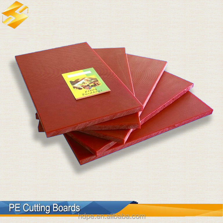 Plastic hdpe butcher chopping block food grade for Butcher block manufacturers