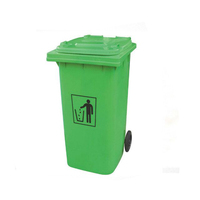 Outdoor 120L / 240L Plastic wheeled garbage bin / trash can / dustbin