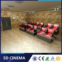 Top Seller Dynamic 5D Theater Driving Simulator System Hydraulic Electric 5D 7D 9D Cinema