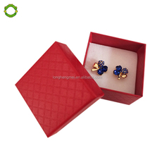 Colorful kraft paper jewellery packaging gift boxes