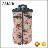 Professional manufacture Formal Fashion different style of blouses
