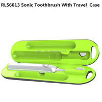 High Quality Travel Charger Case With Sonic Vibration Toothbrush UV Sanitizer