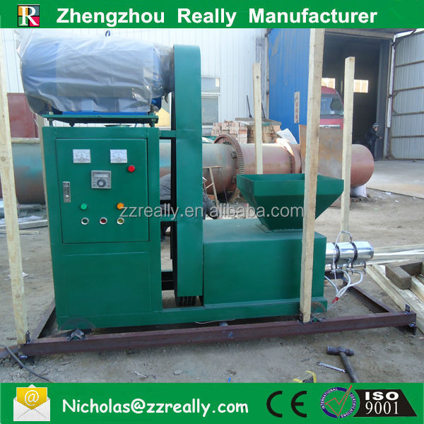 Superior quality new design charcoal rods forming machine