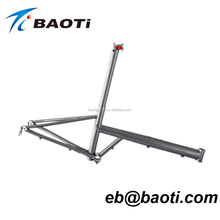 excellent quality titanium folding bike frame
