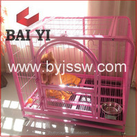 Trade Assurance Foldable Aluminum Stainless Steel Dog Cage And Galvanized Steel Dog Run