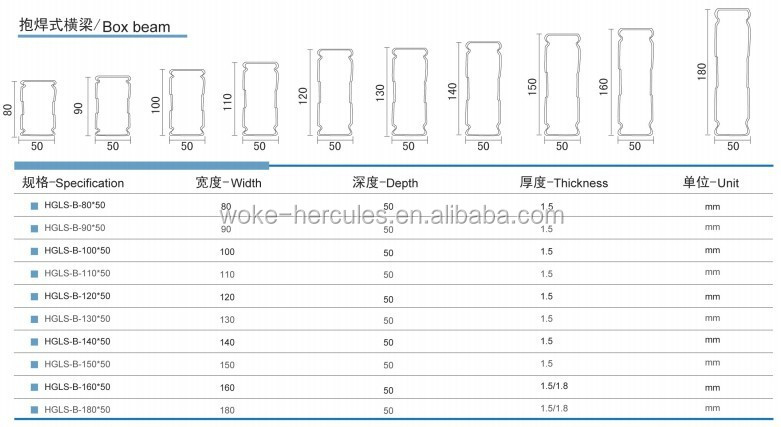 Pallet rack with heavy duty made in China from Hebei Woke Metal Products Co.,Ltd