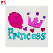 Happy Holiday decorative window clings sticker for PRINCESS
