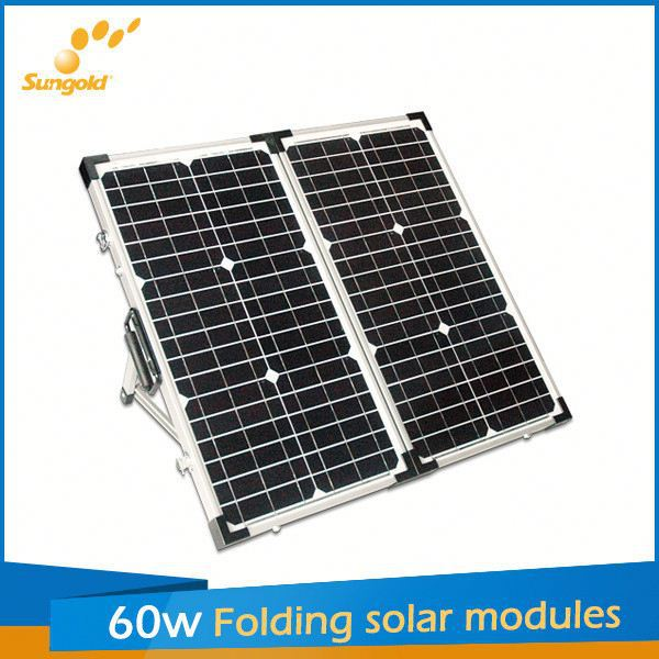 2*30W sungold portable solar charger for panel