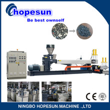 good quality pp plastic bag wind cooling hot cutting pellet machine machine