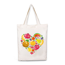 Canvas Tote Bag For Women Zipper Makeup Beach Shoulder shopping Bag