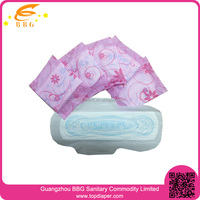 health guaranteed disposable lady anion sanitary pads with free sample