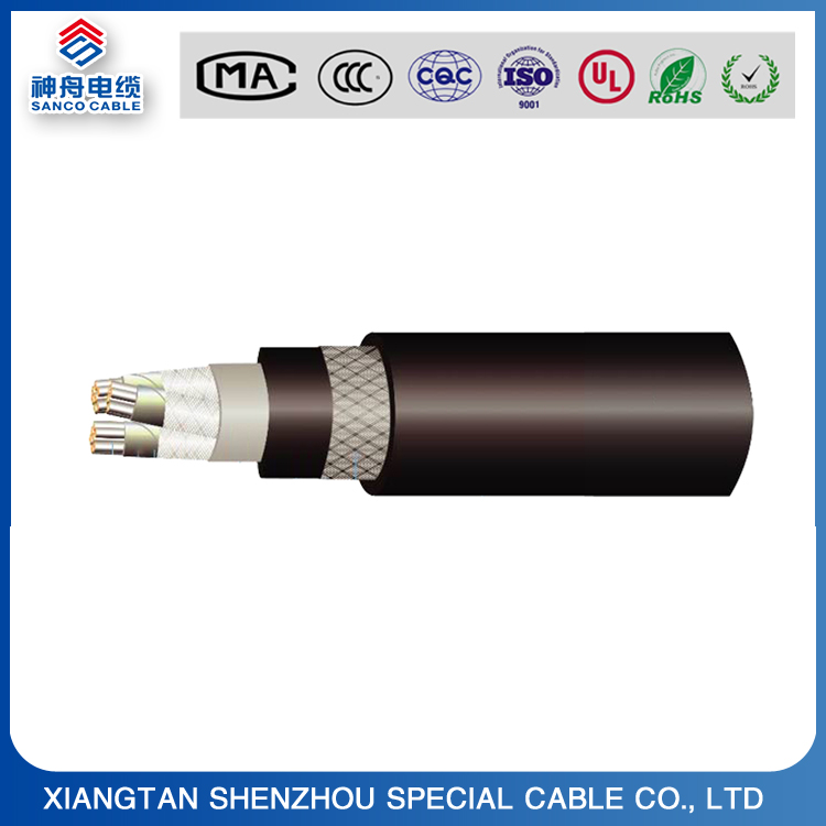 XLPE insulated fire retardant shipboard power cable without inner sheath,0.6v/1kv Marine Cable