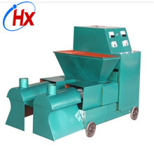 Peanut shell rice husk charcoal briquette making machine South Africa
