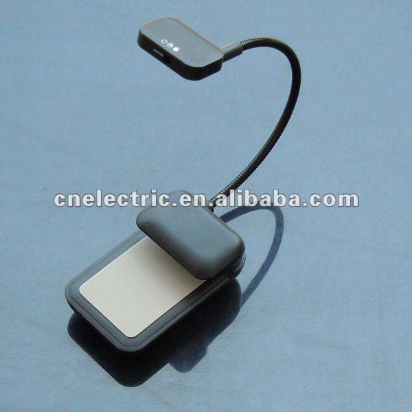Flexible Ebook/ereader LED Reading Light With Clip for Amazon Kindle Noble Nook e-Book Reader light similar belkin light