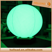 16 color changing inflatable floating advertising balloon,led light water floating balloon