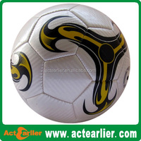 promotional size 5 PVC synthetic football