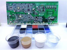 Si3715 sensor silicone gel adhesive,Liquid transparent silicone gel,two component self healing silicone gel,