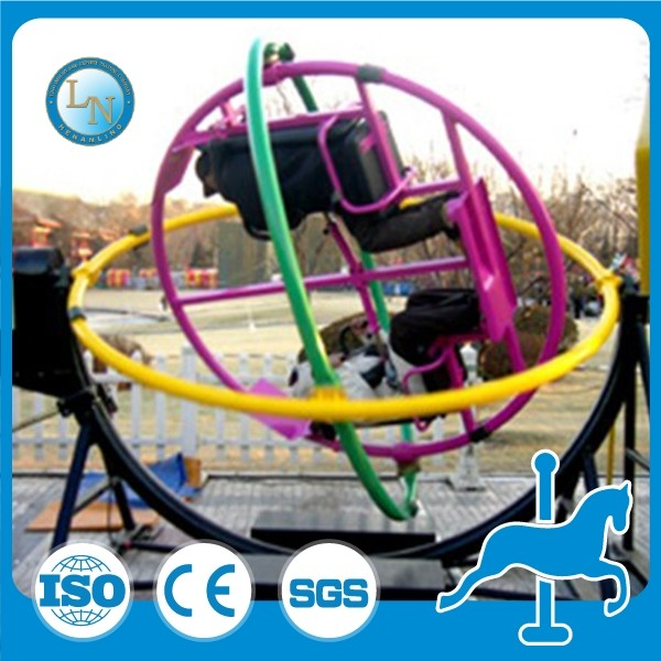 Christmas discount price sales 3d amusement games space beyblade human gyroscope rides