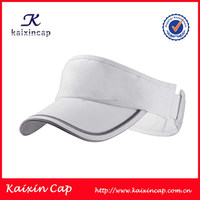 Sports Golf Unisex Sun Visor Cap With Custom Embroidery Logo Design And Curved Brim Custom Made In Various Colors