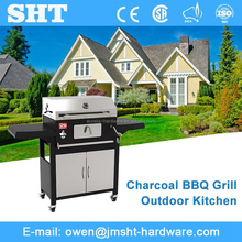Alibaba Chinese Stainless Steel Metal No Smoke Bbq Charcoal Grill