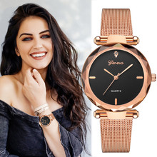 2019 Best Sell Women Watches Geneva Fashion Classic Hot Sale Luxury Stainless Steel Analog Quartz WristWatches relogio feminino