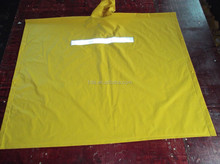 safety rain poncho,reflector raincoat,pvc polyester rain coat