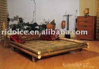 Bamboo bed SPA bed luxury furniture DS-WY13016