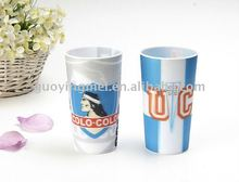 3D plastic drinking glass cup