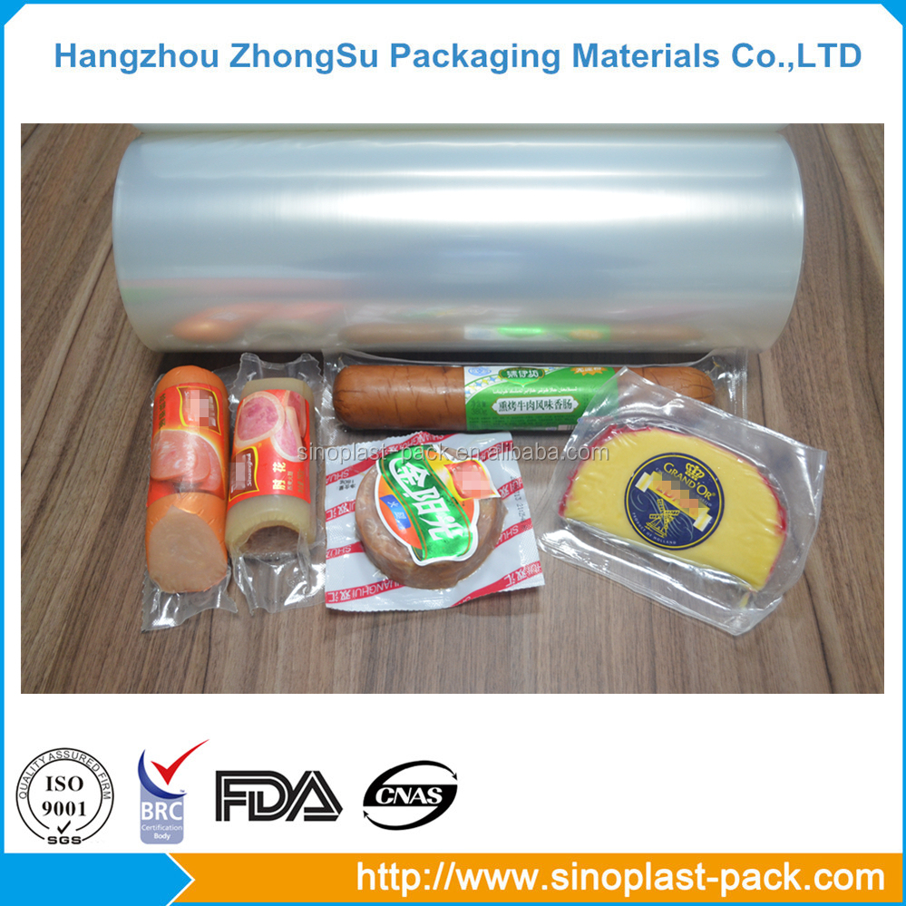 Nylon plastic wrap stretch roll film for food grade packaging