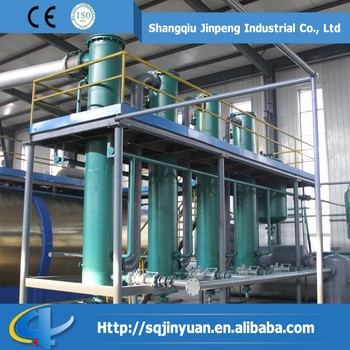 Used Engine Oil Recycling Machine Distillation Plant View Used Engine Oil Recycling Jinpeng