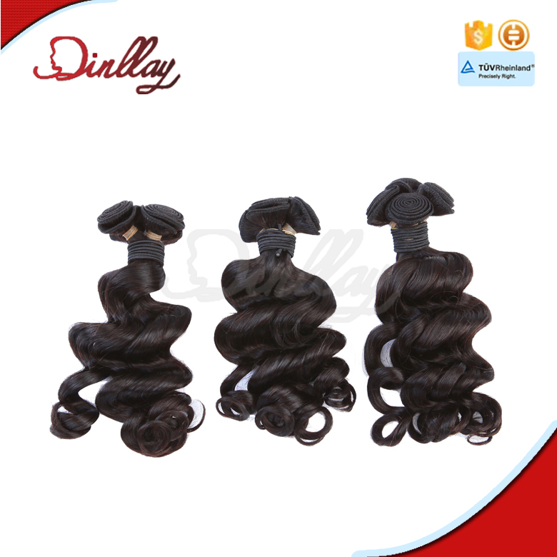 raw virgin malaysian curly hair,unprocessed wholesale price loose curly hair extension