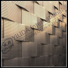 decorative pattern flexible thin perforated metal sheet (iso9001)
