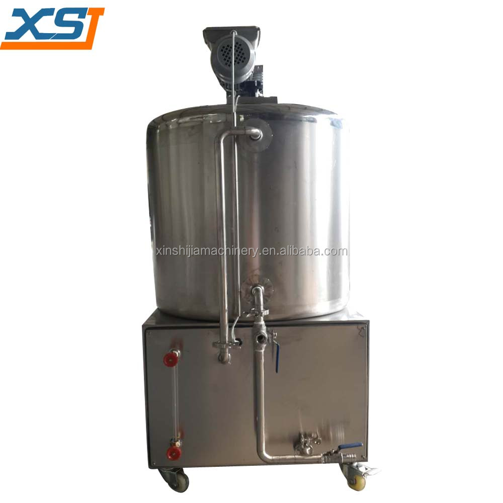 100L water cooling method small milk pasteurizer