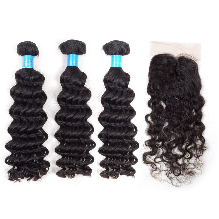 High quality Ture length soft end Brazilian Virgin hair closure piece,lace closure,virgin hair bundles with lace closure