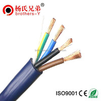 RVV PVC flexible cord Cable copper conductor hot selling in 2016