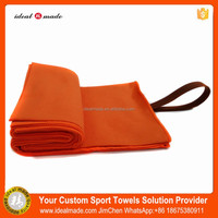 High Absobent High Quality 80% Polyester And 20% Polyamide Microfiber Custom Logo Sport Towel With Pouch