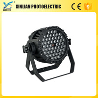 Gsmoon led profile lighting with zoom 54pcs Full-color Waterproof Par Light