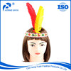 China Leading Factory TOP10 Carnival Party Simple Design Decorative Feather Headdress