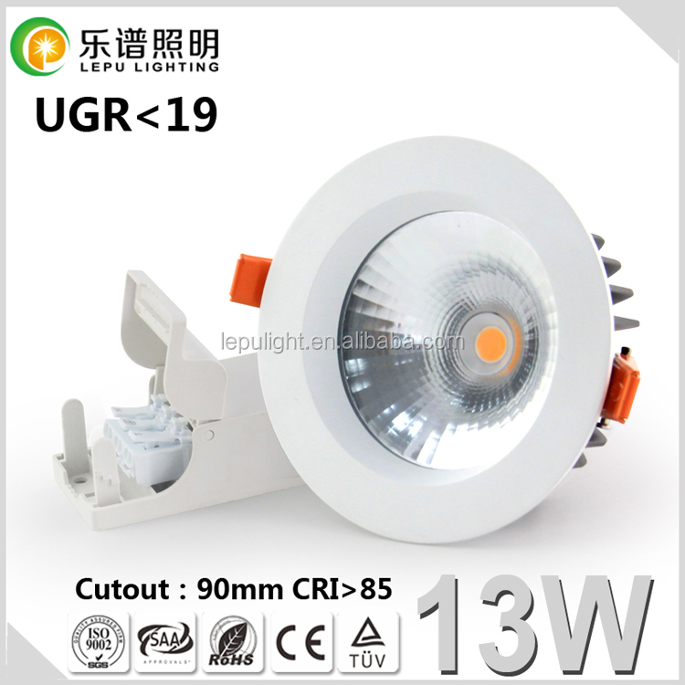 COB dimmable led downlight 8inch hot for luxury decoration