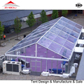 15x30m transparent PVC waterproof outdoor tent with glass wall for event