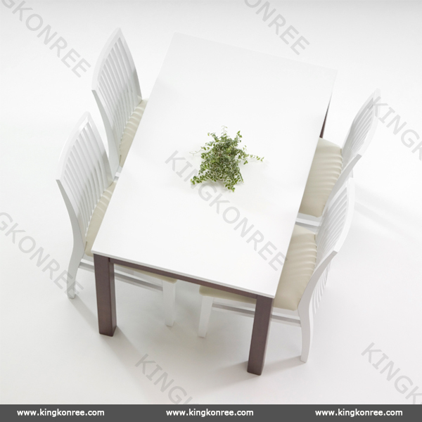 China manufacturer good quality dnning tabes quartz stone tables wholesale