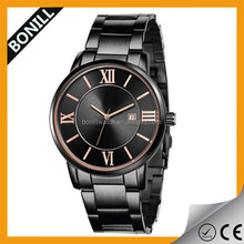 Promotional deluxe nice looking all stainless steel high quality design watches