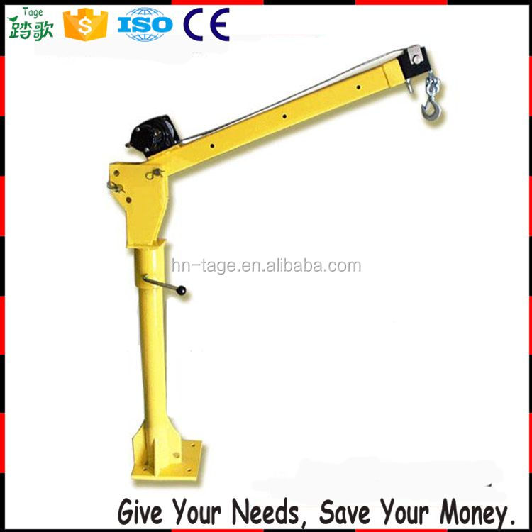 500kg boat lifting small mini electric hoist car lift cranes