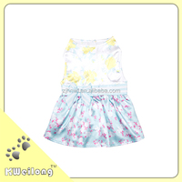 2015 new style the wholesale bow-knot pet summer dress