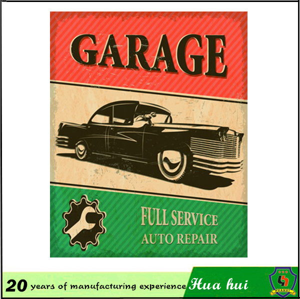 Funny tin signs, hanging pictures of car ; tin plate ornaments c129