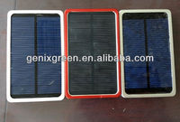 Durable portable solar charger power bank 5000mah for smart phones
