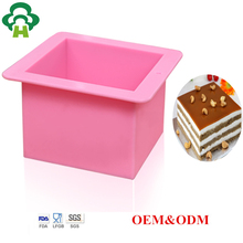 Specialized mold design customized silicone bread toast maker baking machine oven applicable custom silicone butter mold