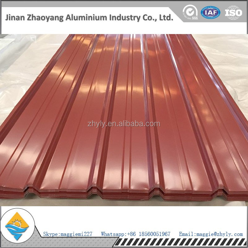Chinese manufacturer supply color coated aluminium plate with temper H14 H24