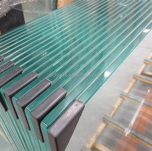 10mm safety tempered glass roofing panels