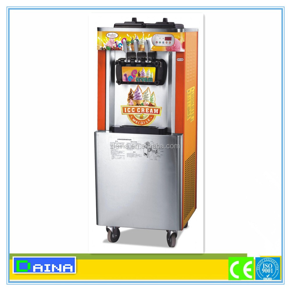 wholesale!! Completely-sealed compressor good price taylor soft serve ice cream machine